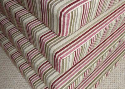 Box seat cushions handmade in Wymondham Norwich