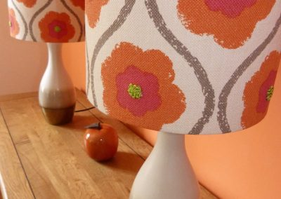 Bespoke lampshades handmade in Wymondham Norwich